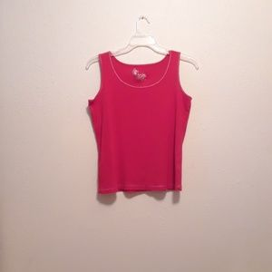 Cherry red tank top by Avenue size 14/16